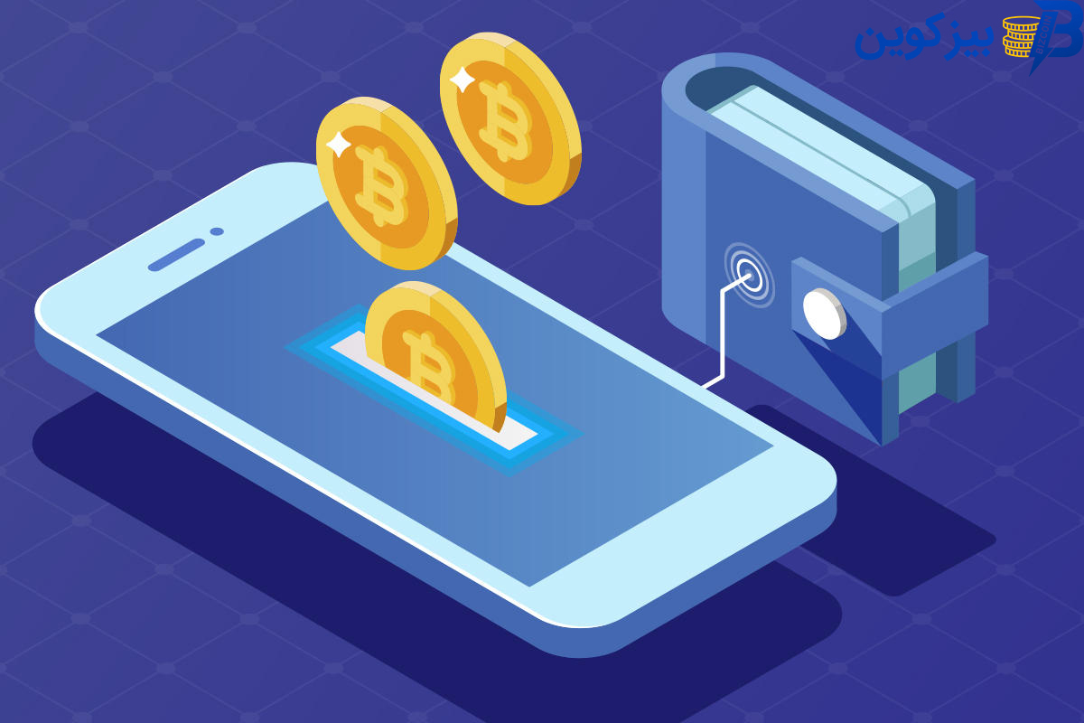 crypto currency smartphone digital wallet مزیت ها و معایب نگهداری ارزهای دیجیتال در کیف پول صرافی چیست؟