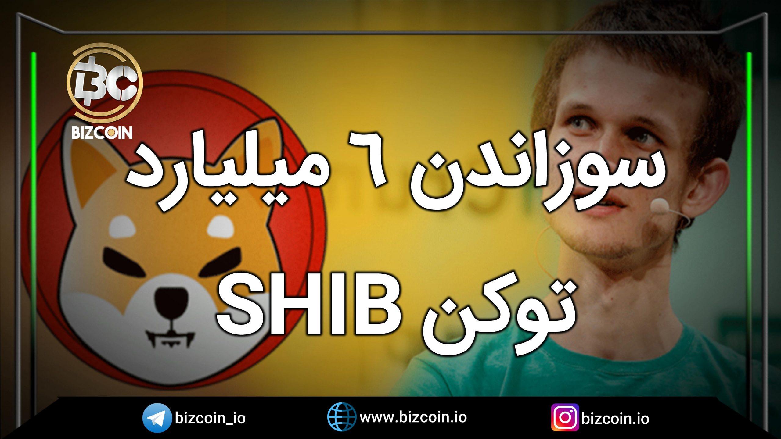 سوزاندن 6 میلیارد توکن SHIB