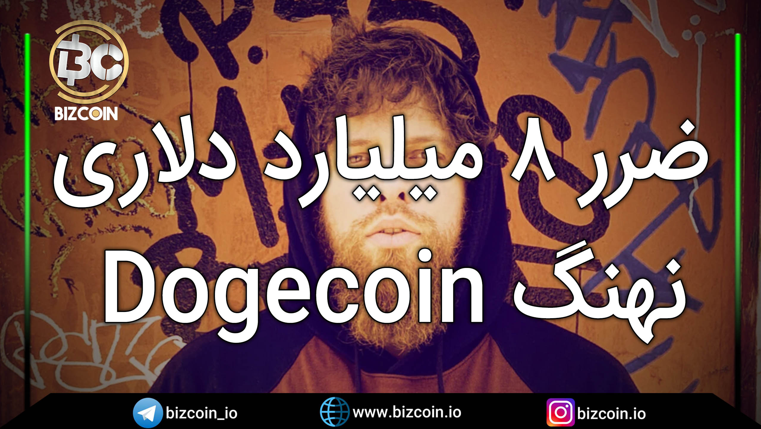Dogecoin 8 billion loss ضرر ۸ میلیارد دلاری نهنگ Dogecoin