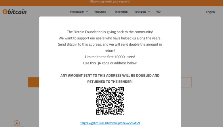 Bitcoin.org hack سایت Bitcoin.org هک شد